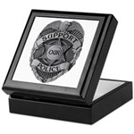 Support Our Police Keepsake Box