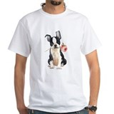 Boston Terrier Rose Shirt