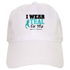 I Wear Teal For Me Baseball Cap