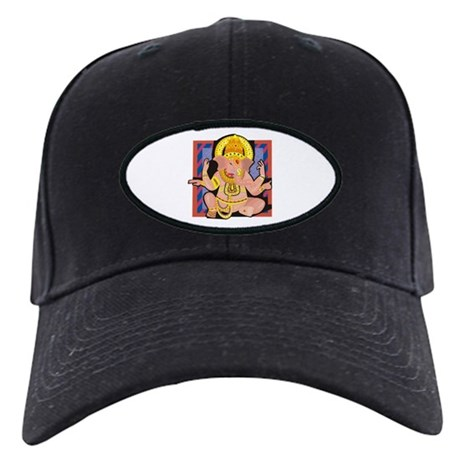 Ganesh yoga Black Cap
