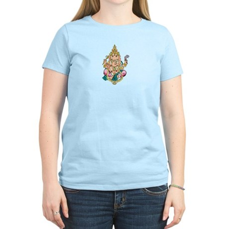 Yoga Ganesh Women's Light T-Shirt