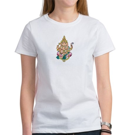Yoga Ganesh Women's T-Shirt
