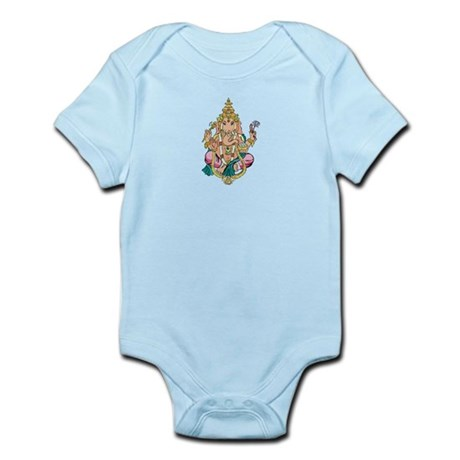 Yoga Ganesh Infant Bodysuit