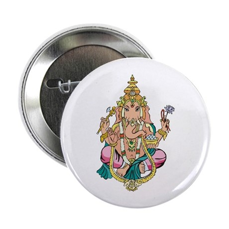 "Yoga Ganesh 2.25"" Button (10 pack)"
