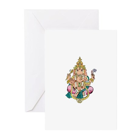 Yoga Ganesh Greeting Cards (Pk of 10)