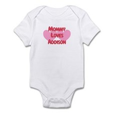 Mommy Loves Addison Infant Bodysuit