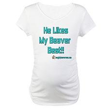 He Likes My Beaver Best! Shirt