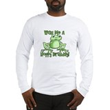 Cute Hoppy Birthday Long Sleeve T-Shirt