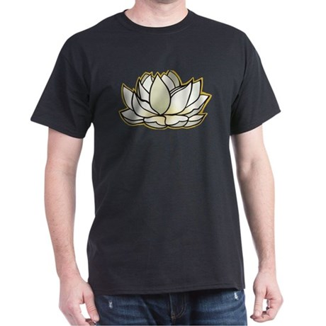 yoga lotus flower Dark T-Shirt
