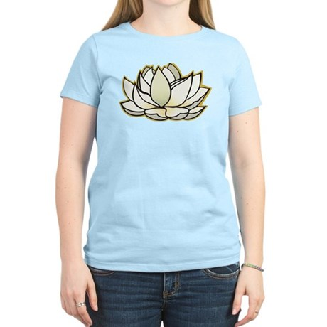 yoga lotus flower Women's Light T-Shirt