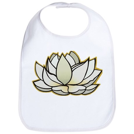 yoga lotus flower Bib