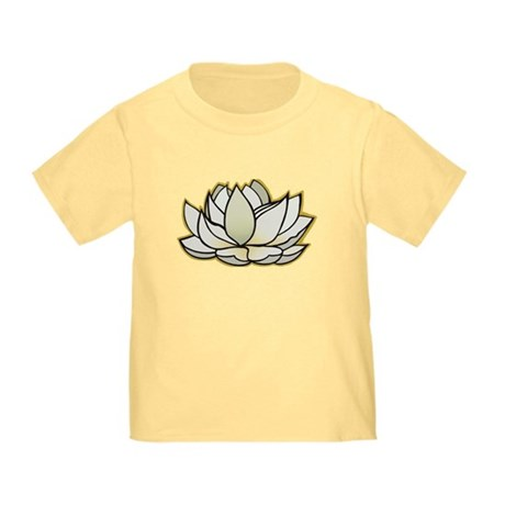 yoga lotus flower Toddler T-Shirt