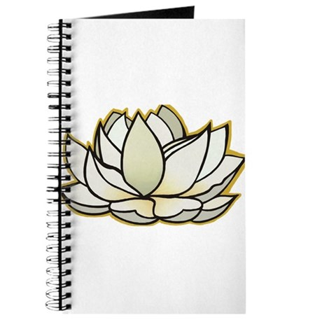 yoga lotus flower Journal