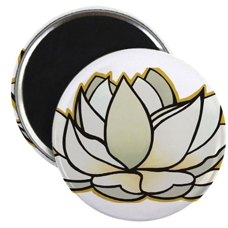 yoga lotus flower Magnet