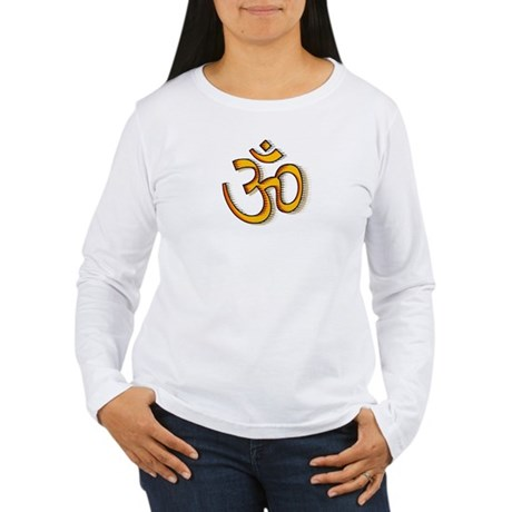 Om yoga Women's Long Sleeve T-Shirt