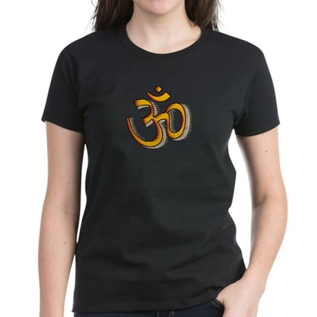 Om yoga Women's Dark T-Shirt