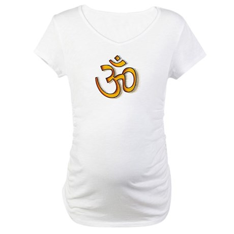 Om yoga Maternity T-Shirt