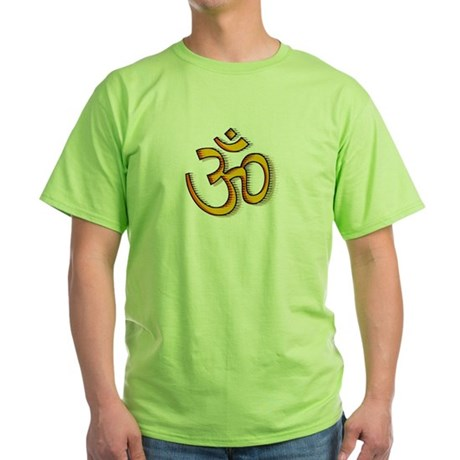Om yoga Green T-Shirt