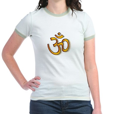 Om yoga Jr. Ringer T-Shirt