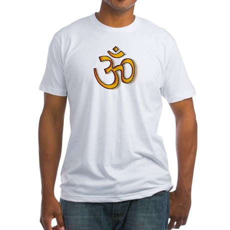 Om yoga Fitted T-Shirt