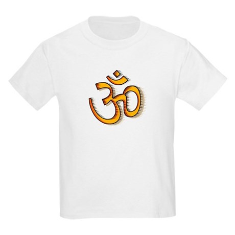 Om yoga Kids Light T-Shirt