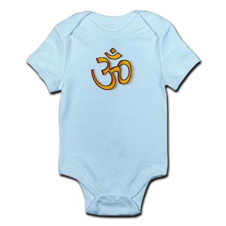 Om yoga Infant Bodysuit