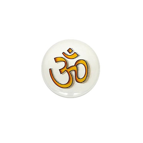 Om yoga Mini Button (10 pack)
