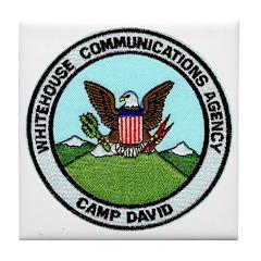 Camp David Communications Tile Coaster