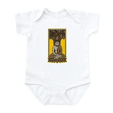 Buddha Under Bodhi Tree Infant Bodysuit