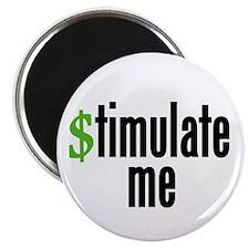 """stimulate me"" 2.25"" Magnet (10 pac"