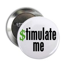 """stimulate me"" 2.25"" Button (10 pac"