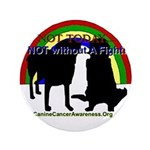 "CanineCancerAwareness 3.5"" Button"