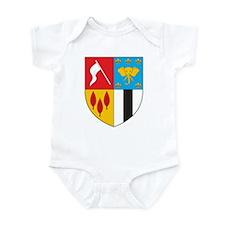 Brazzaville Coat of Arms Infant Bodysuit