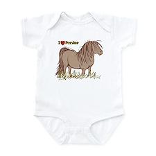 I Love Ponies Onesie
