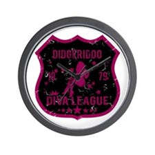Didgeridoo Diva League Wall Clock