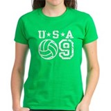 USA Volleyball 09 Tee