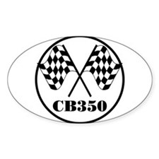 CB350 Oval Decal