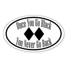 Once you go black diamond euro - Sticker - Skiing