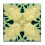 Ornate Art Nouveau Wall Tile or Coaster