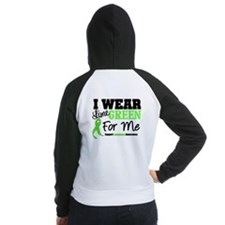 IWearLimeGreen For Me Women's Raglan Hoodie