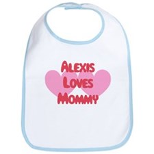 Alexis Loves Mommy Bib