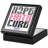 HOPE FAITH CURE SIDS Keepsake Box