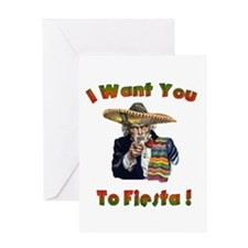 Fiests Sammy Greeting Card