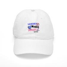 PEACE LOVE CURE SIDS Baseball Cap
