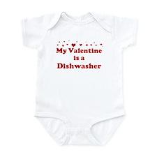 Valentine: Dishwasher Infant Bodysuit