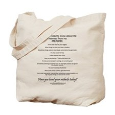 Love your midwife tote bag