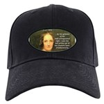 Writer Mary Shelley Black Cap