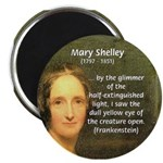 Writer Mary Shelley Magnet