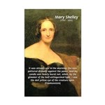 Writer Mary Shelley Mini Poster Print