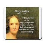 Writer Mary Shelley Mousepad